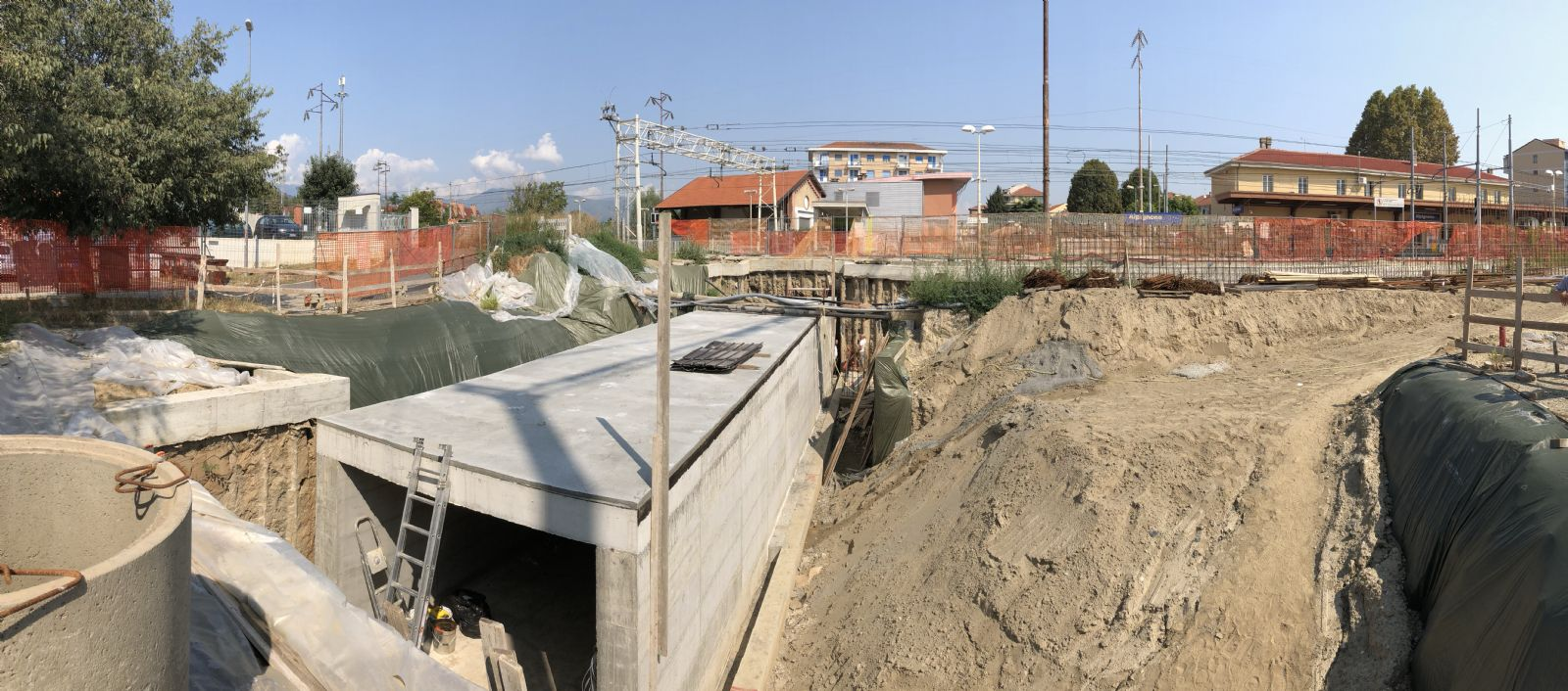 Work in progress: sottopasso MOVIcentro