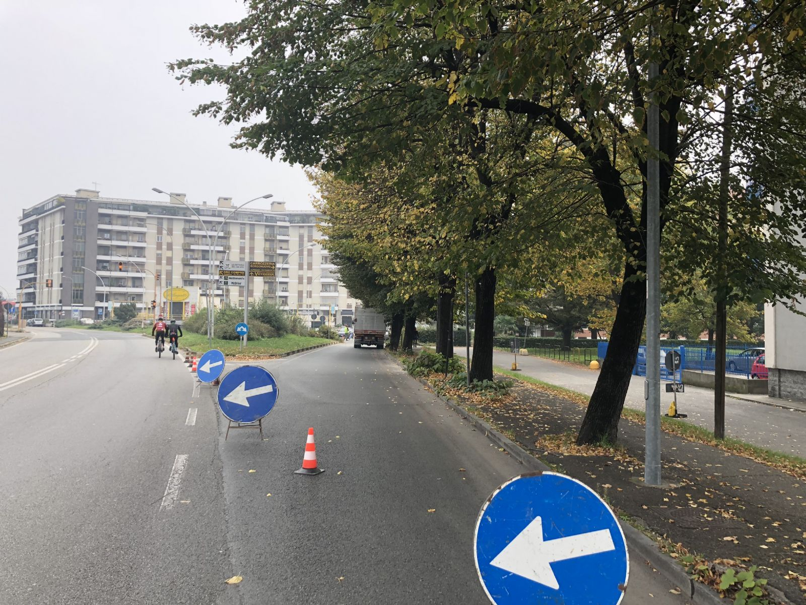 Work in progress: sistemazione viale Kennedy